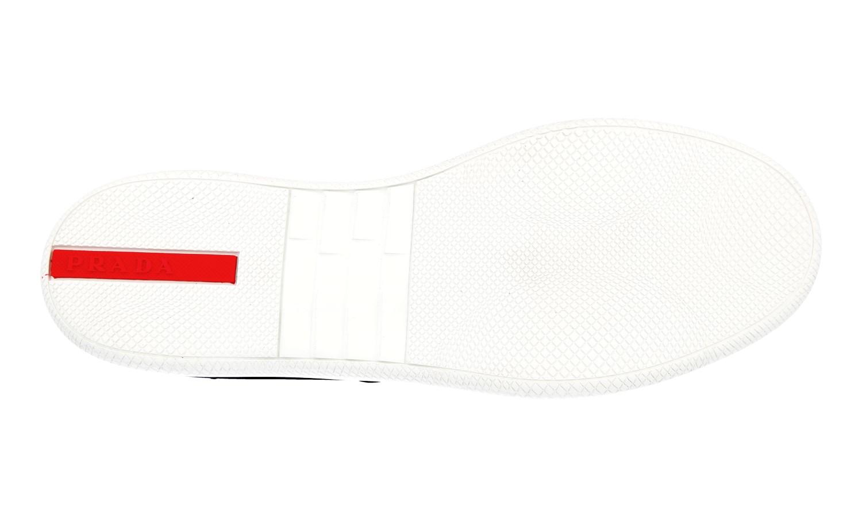 Luxus 4e3027 43 Prada Details Schuhe 9 43 Blau Neu 5 Zu Sneaker gvIbyfmY76